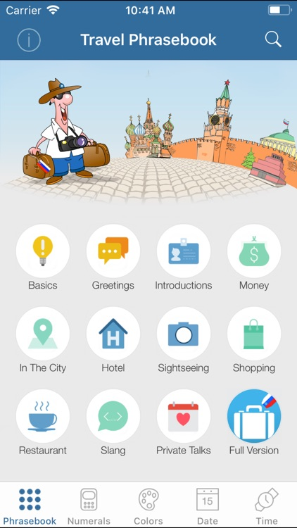 Russian Travel Phrasebook Lite