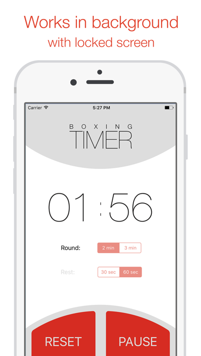 Boxing round timer - for MMA, fitness and workouts Screenshot 2