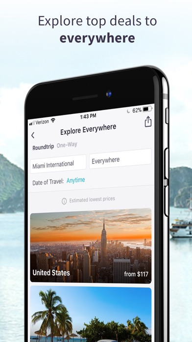Skyscanner review screenshots