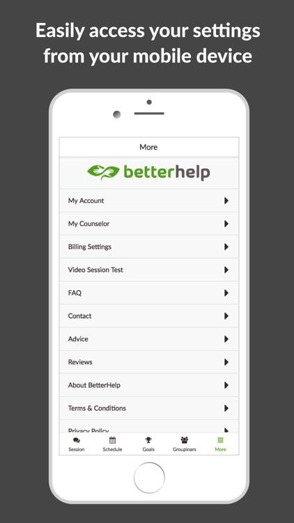 BetterHelp screenshot-4
