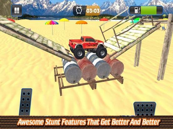 Grand Monster Truck Driving Sk screenshot 6
