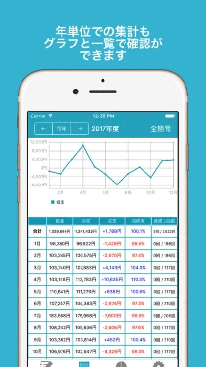 ギャンブル収支管理メモ screenshot-3