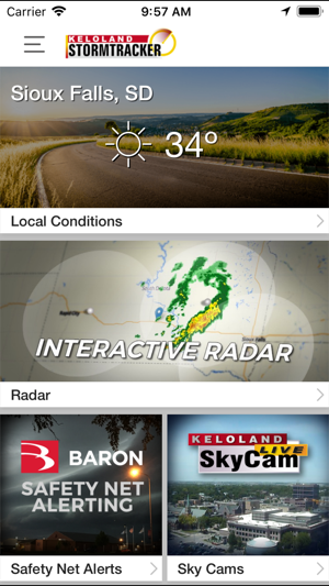 Kelo Weather Map.Kelo Weather South Dakota On The App Store