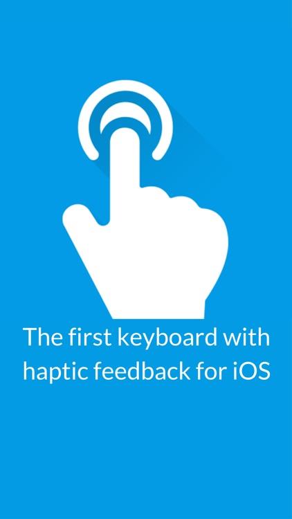Haptic Keyboard for iPhone 7/8