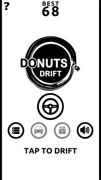 Donuts Drift - Slide Drifting screenshot 4