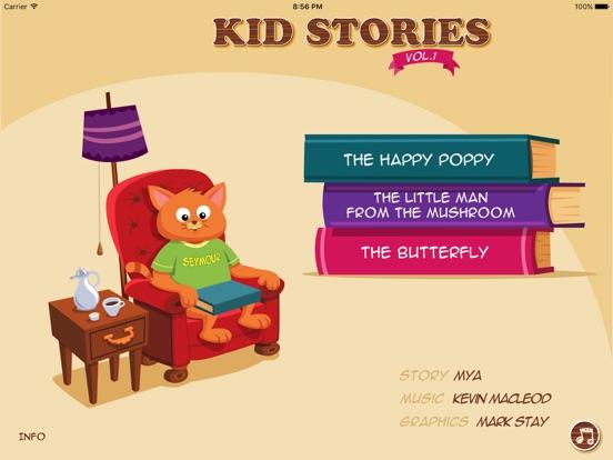 Kid Stories 1 - Read & Play Screenshots