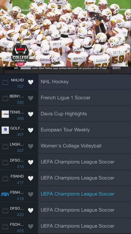 SlingPlayer for iPhone screenshot-1
