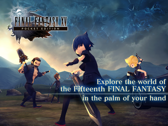 FINALFANTASY XV POCKET EDITION screenshot 6