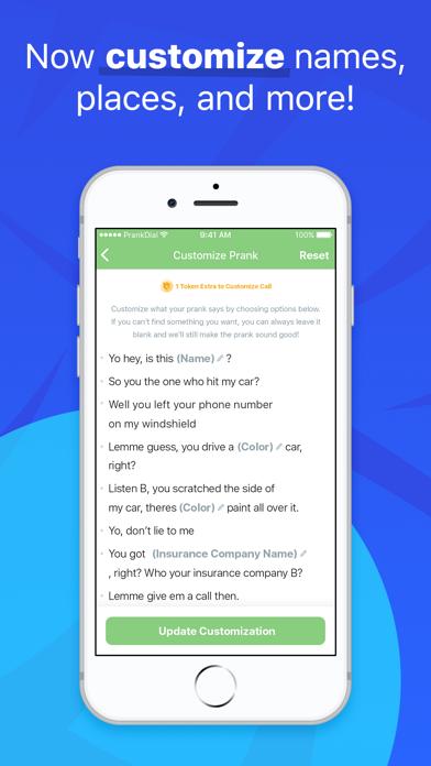 PrankDial - #1 Prank Call App Screenshot