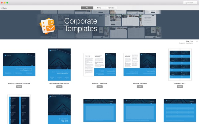 Templates For Pages | Toolbox For Pages Templates Im Mac App Store