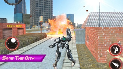 Epic Robot City Fighting screenshot one