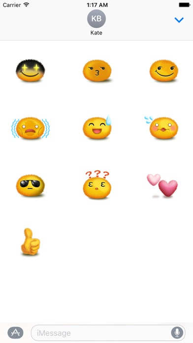 Happy and Sad Face Sticker screenshot 3
