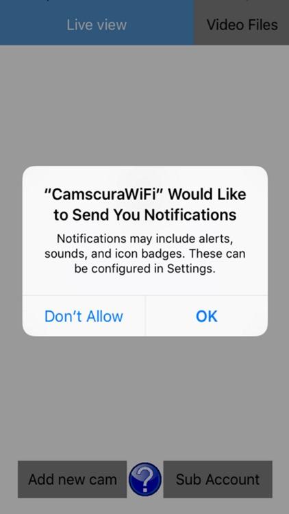 Camscura Wi-Fi