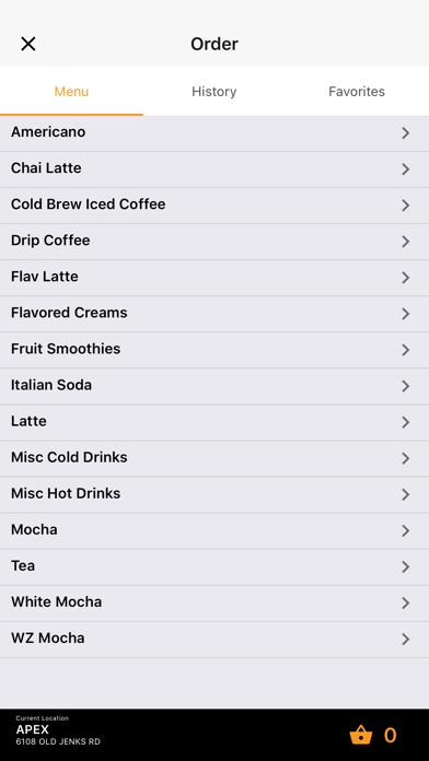 Wake Zone Coffee House screenshot three
