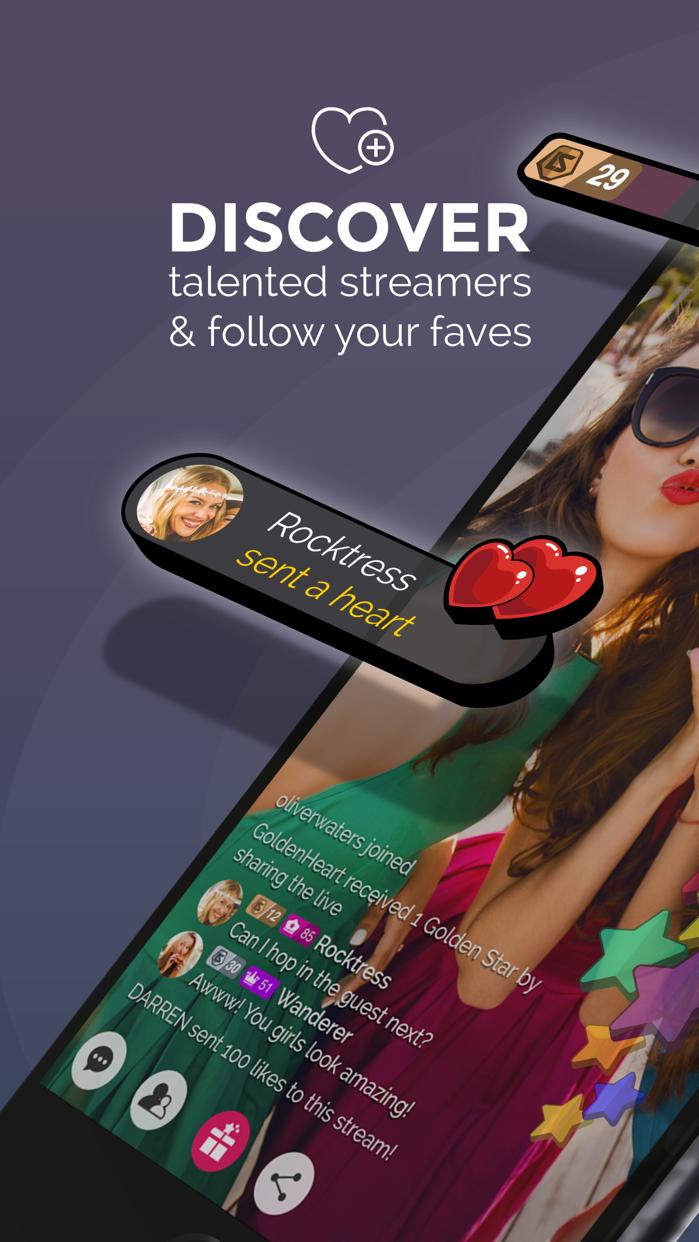 Livestar Social Live Streaming Screenshot