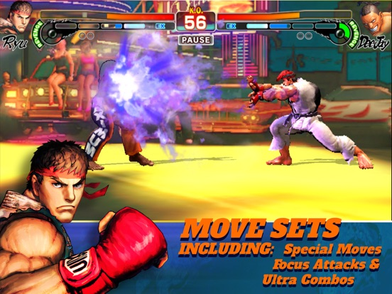 Street Fighter IV CE на iPad