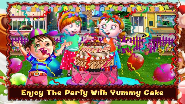 Party Cake Factory and Dessert Maker screenshot-4