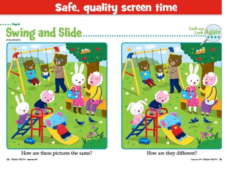 Highlights High Five Magazine: Preschool Reading screenshot-3