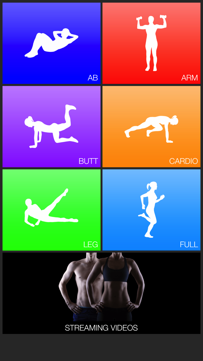 Daily Workouts Fitness Trainer Screenshot