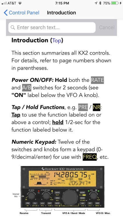 KX2 Micro Manual screenshot-1
