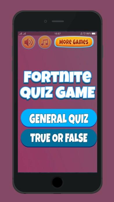 Quiz VBucks For Fortnite Screenshot on iOS