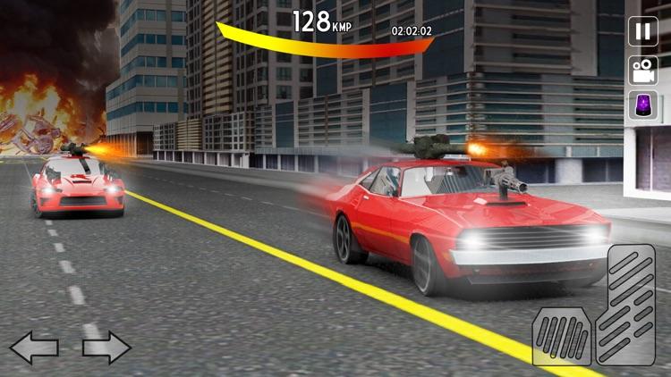 Car Shooting Gangs: City Race