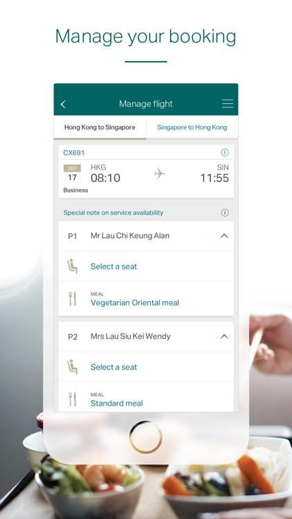 Cathay Pacific screenshot-2