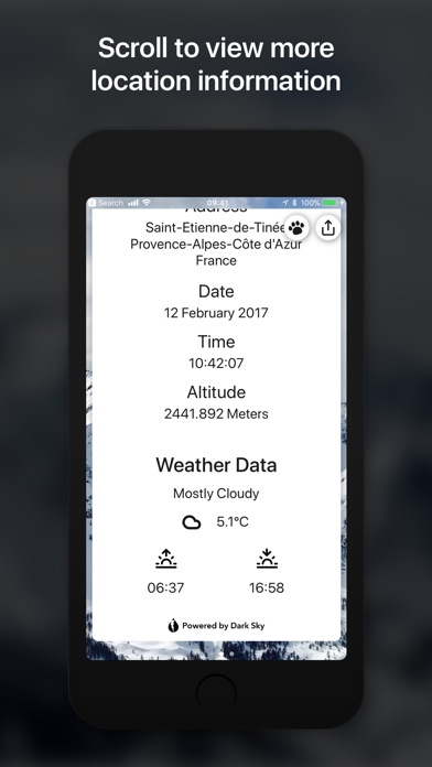 Metadata Screenshots