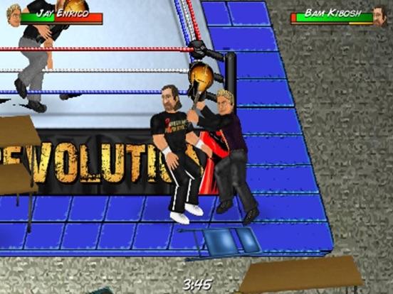 Игра Wrestling Revolution