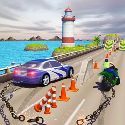 Chained Cars Racing Rivals 3D
