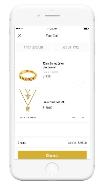 The Gold Gods Jewelry screenshot-3