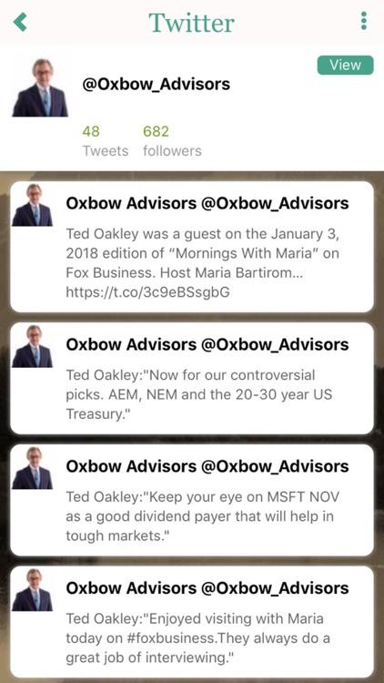 Oxbow Advisors screenshot-3