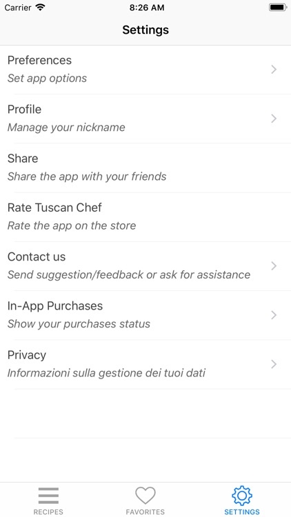 Tuscan Chef - Italian food screenshot-7