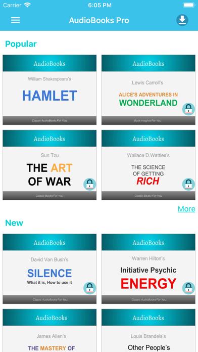 AudioBooks Pro - Best Books screenshot one