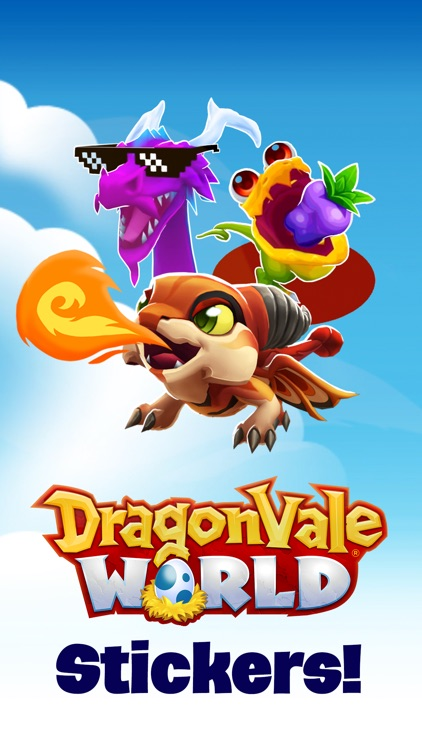 DragonVale World Stickers