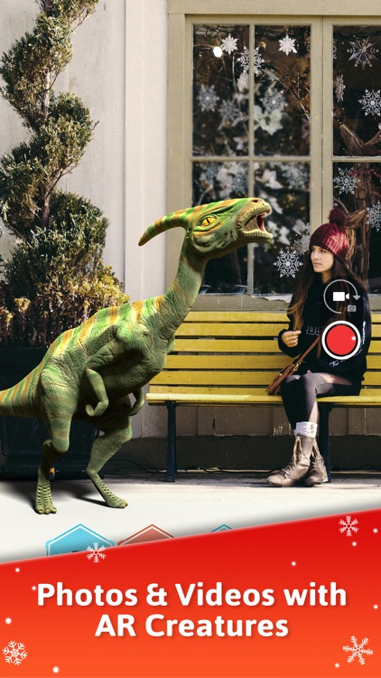 Monster Park - AR Dino World screenshot-2