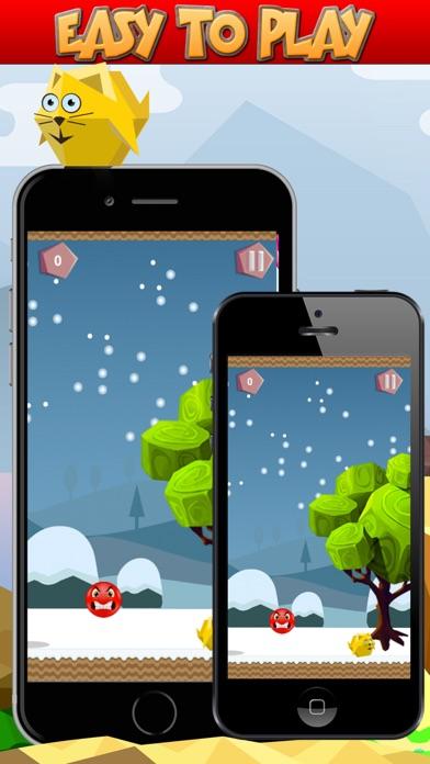 Bouncy Red Ball vs Bird Pro Screenshot 2