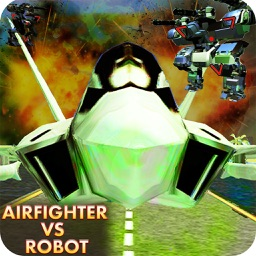 AirFighter VS Mech Robot Batle