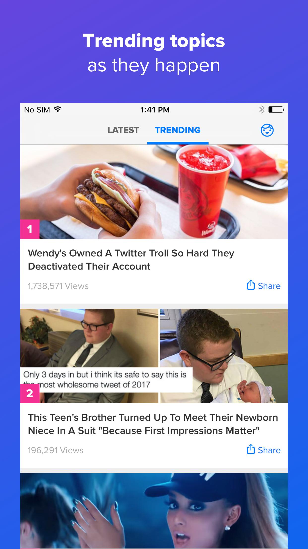 BuzzFeed Screenshot