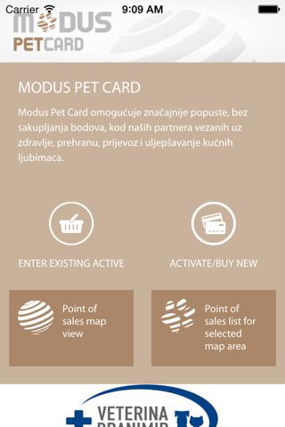 Modus Pet Card - náhled