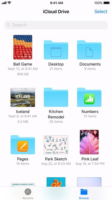 Files screenshot 2