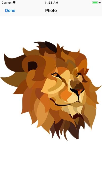 Lion Stickers screenshot-4
