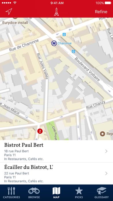 Food Lover's Guide to Paris Screenshot