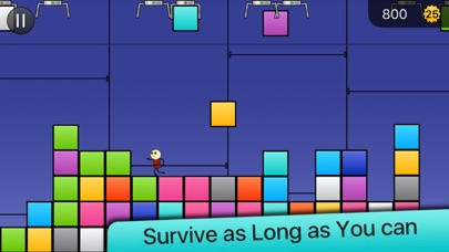 Screenshot from Box Attack: Stack and Survive