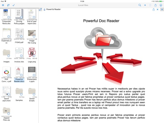 PrintCentral Screenshots