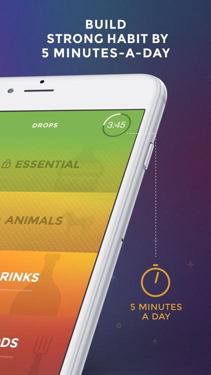 Drops: Learn 31 new languages screenshot-3
