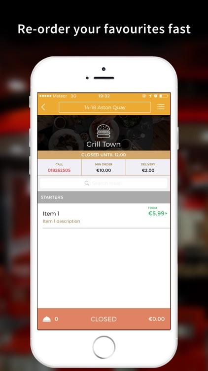GrillTown - Burgers & Kebabs