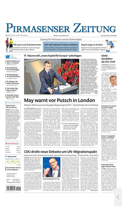 Pirmasenser Zeitung Sport