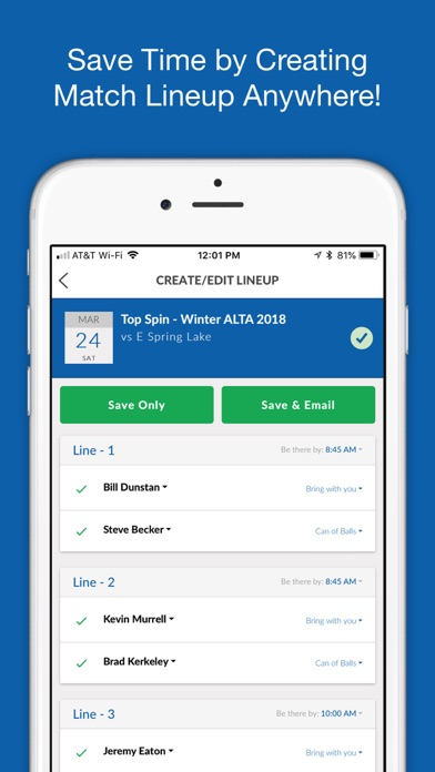 Screenshot for TennisPoint in United States App Store