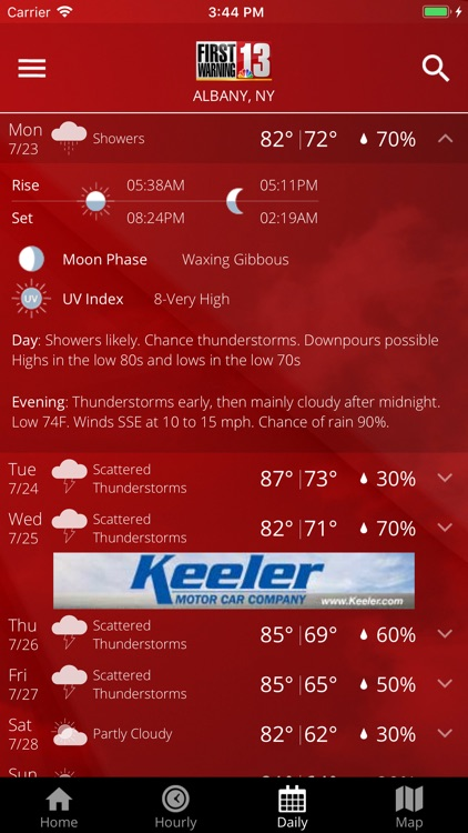 WNYT First Warning Weather screenshot-4